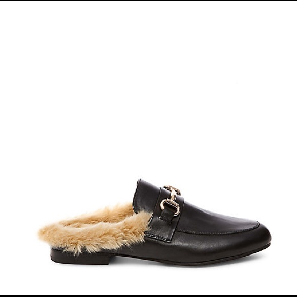 Steve Madden Black Jill Loafer